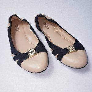 Michael Kors Leather Ballet Flats